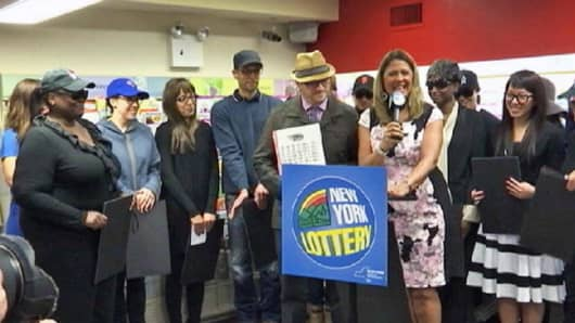 New York State Lottery winners