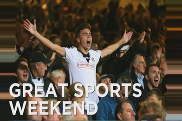 Big weekend for sports