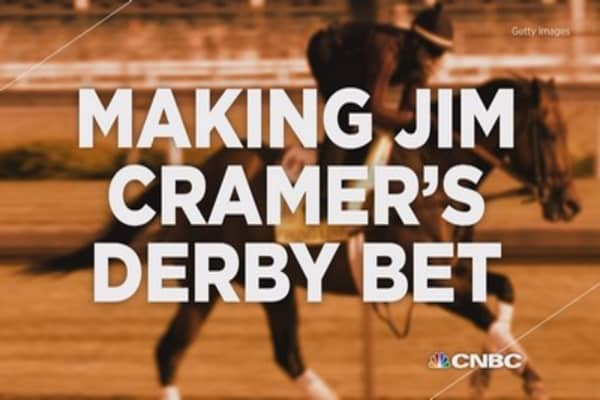 Making Jim Cramer's Kentucky Derby bet
