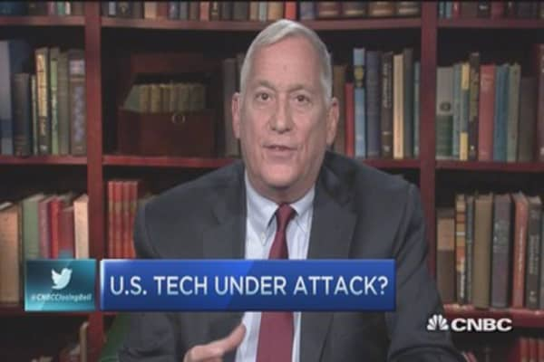US tech under attack?