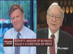 Why IBM and not Apple? Warren Buffett
