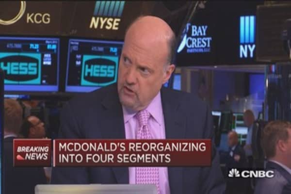 McDonald's turnaround strategy