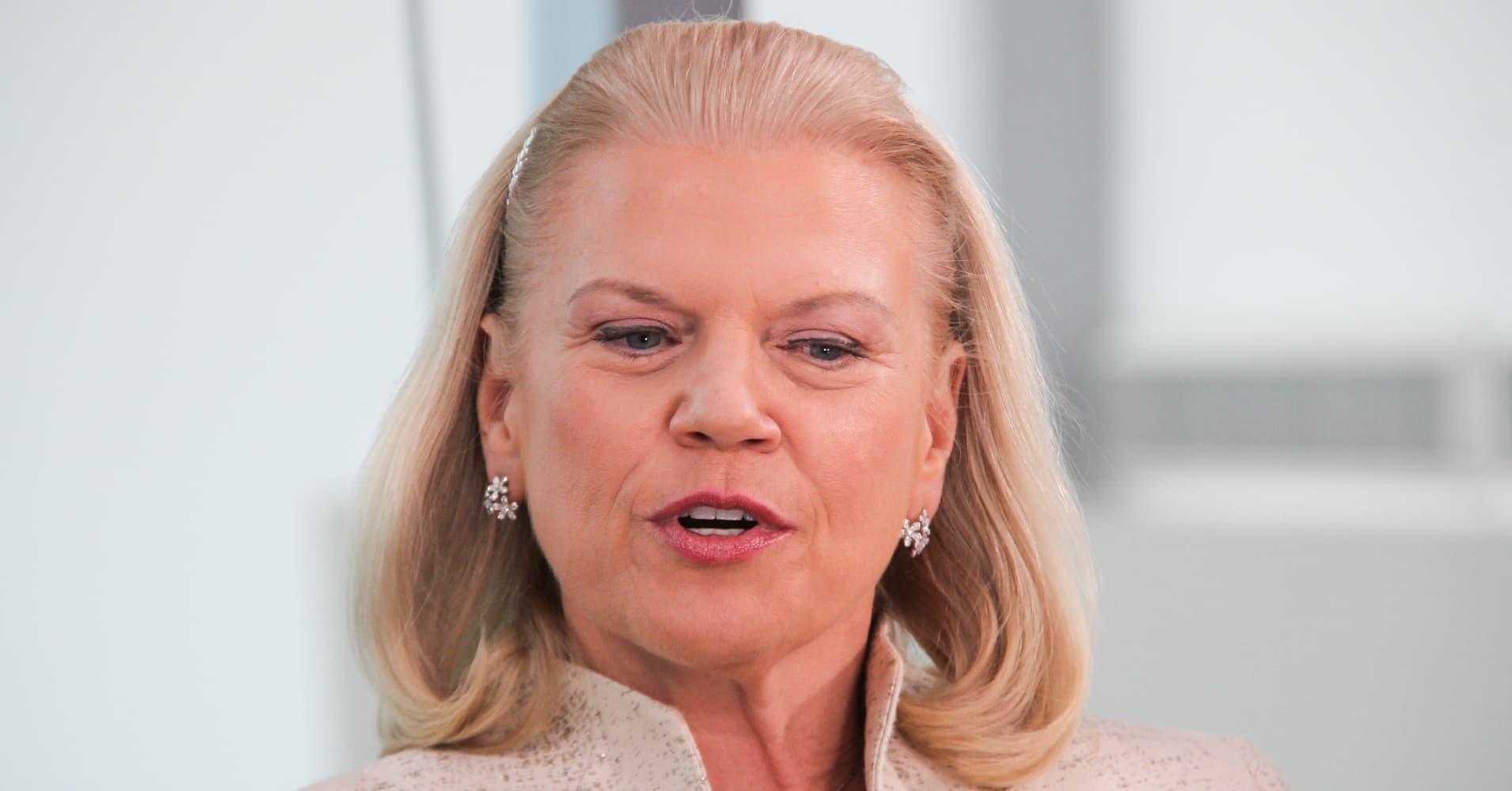 The US needs tax reform and job retraining programs, says IBM CEO