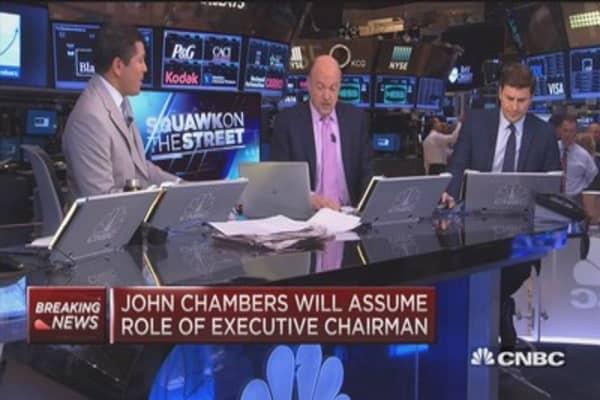 Cramer: Cisco transition will be smooth