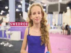 11-year-old fashion designer rocks the runway