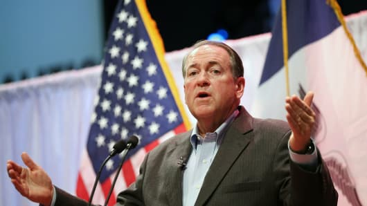 Former Arkansas Governor Mike Huckabee.