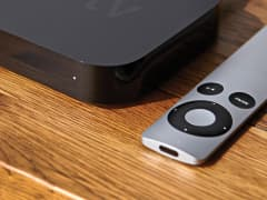 Apple TV and remote control