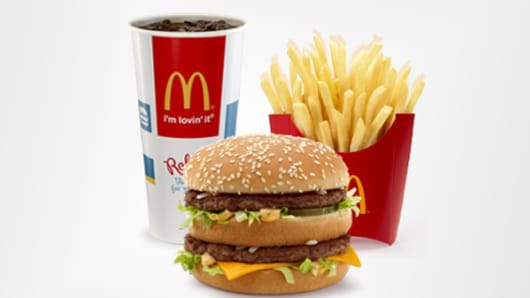 McDonald's Big Mac Extra Value Meal