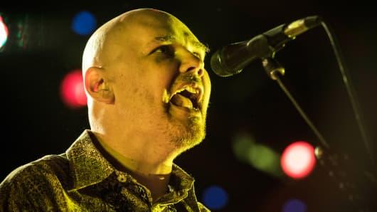 Billy Corgan of Smashing Pumkins