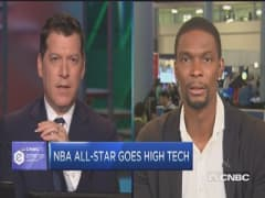 NBA's Chris Bosh new level of tech savvy