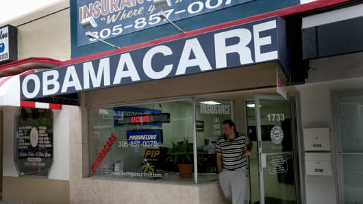 Obamacare health insurance agency