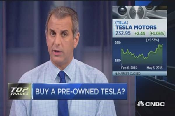 Jefferies starts Tesla at a 'buy'