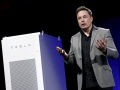 Elon Musk Tesla Motors Battery