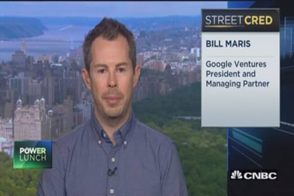 Excited about the future of life sciences: Google Venture Pres.