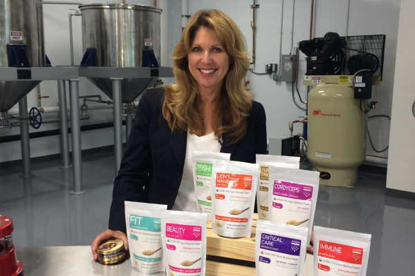 Sandra Carter is co-founder of Mushroom Matrix.