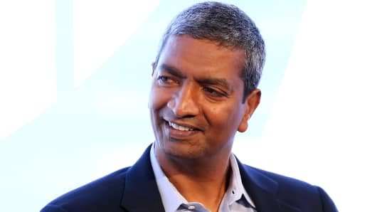 KR Sridhar, co-founder and CEO of Bloom Energy