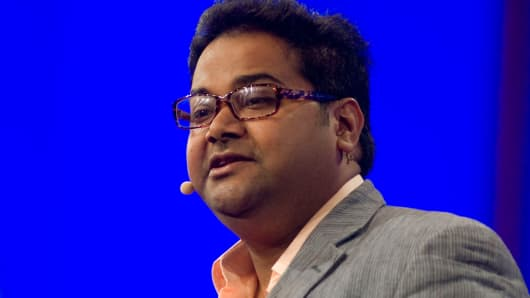 Ambarish Mitra, co-founder and chief executive officer of Blippar