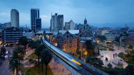 Medellin Colombia skyline