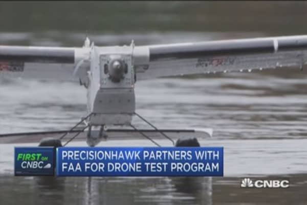 PrecisionHawk partners with FAA