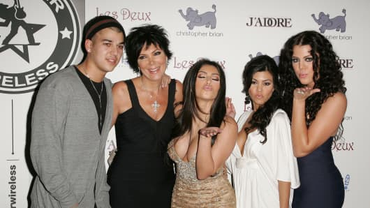 Robert, Kris, Kim, Kourtney, and Khloe Kardashian. Now you can block all Kardashians with this app.