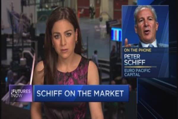 Schiff: Yellen is half right about the market