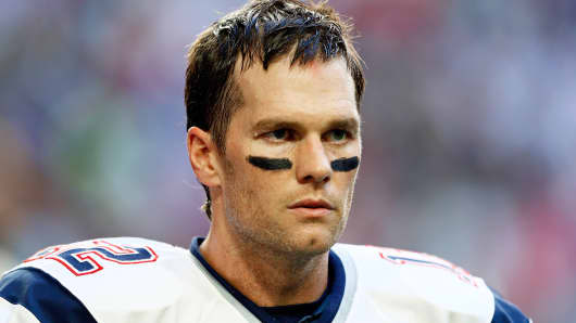 New England Patriots' Tom Brady