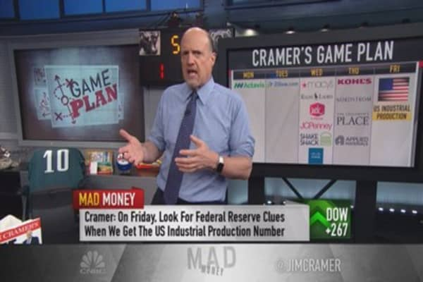 Cramer's game plan for the week ahead