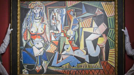 """Pablo Picasso's """"Les femmes d'Alger (Version O)"""""""