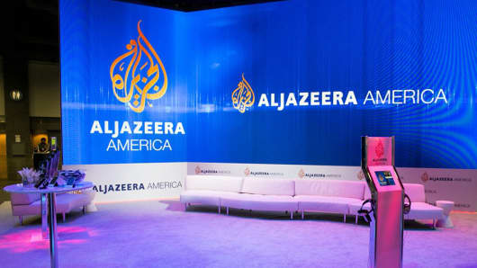 An Al Jazeera America studio