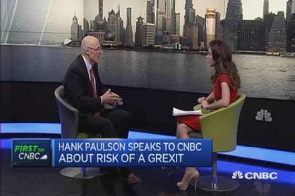 Europe still has fundamental issues: Paulson