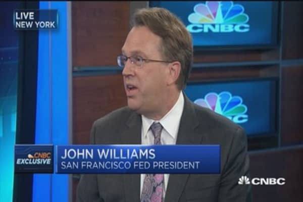 Fed's Williams: Labor market improving