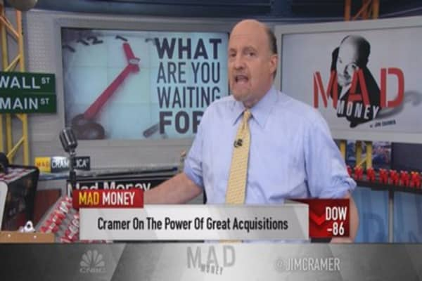 Cramer: The power of great acquisitions