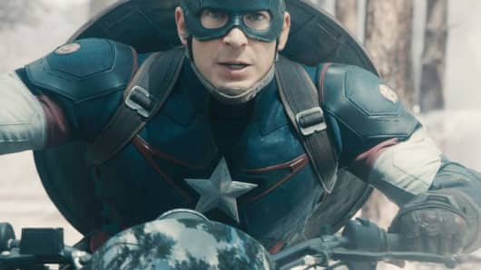 "A still image from the movie ""Avengers: Age of Ultron"""