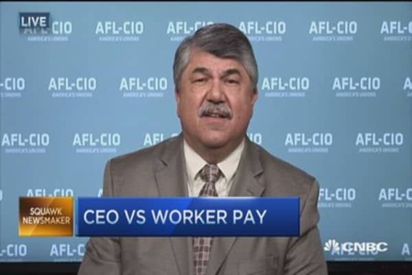 CEOs new 'royalty' in America: Richard Trumka