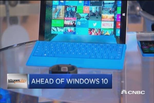 Microsoft show & tell