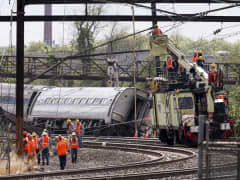 Amtrack train accident