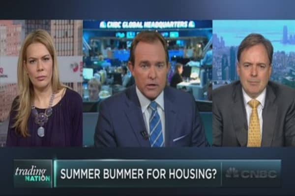 Time to sell housing stocks?