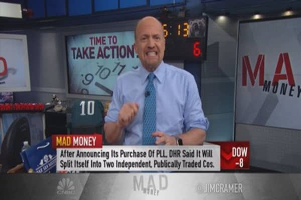 Cramer: Don't just stand there, do something!