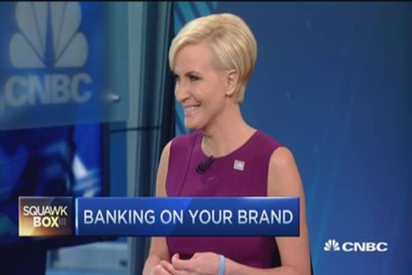 Banking on your brand: Mika Brezezinski