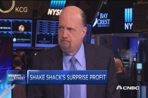 Cramer: Don't short Shake Shack