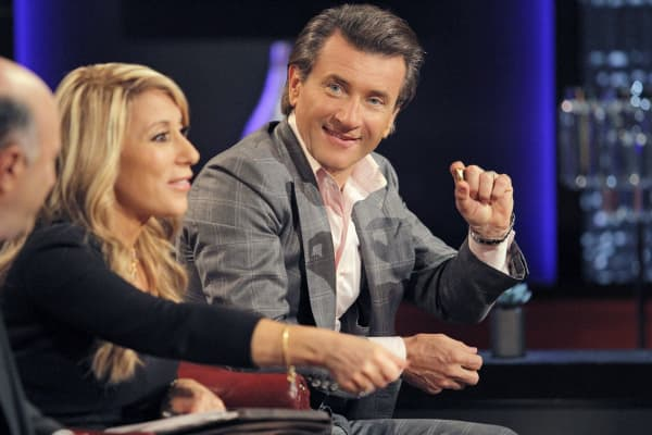 "Robert Herjavec on ""Shark Tank."""