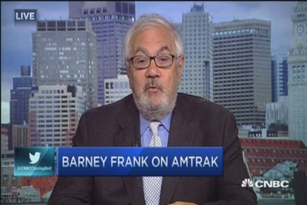 Barney Frank: Amtrak crash could have been avoided