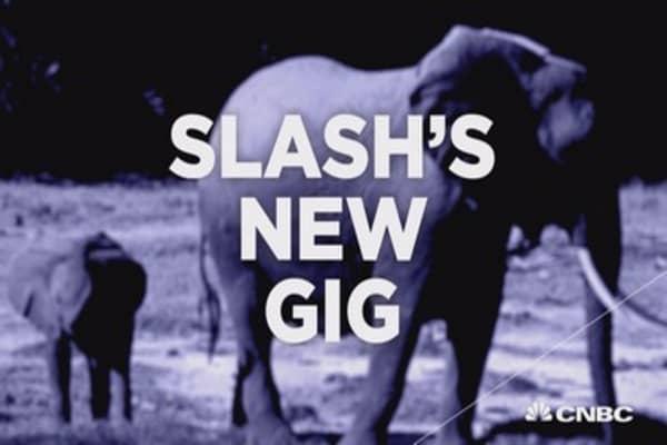 Slash's new gig: combatting elephant poaching