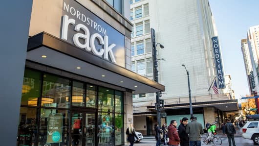 Nordstrom Rack in downtown Seattle