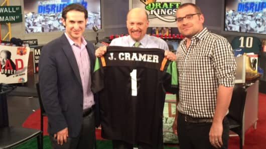 Jim Cramer, Jason Robins and Matt Kalish