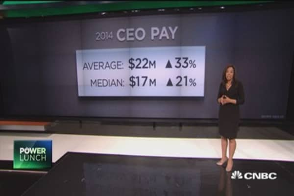 2014's highest paid CEOs