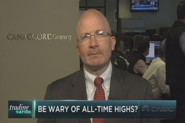 Tony Dwyer: Beware record highs!