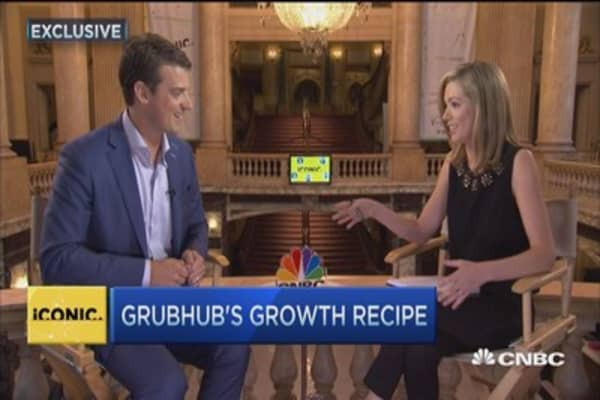 GrubHub's growth recipe