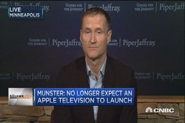 Munster: I was wrong about Apple TV set