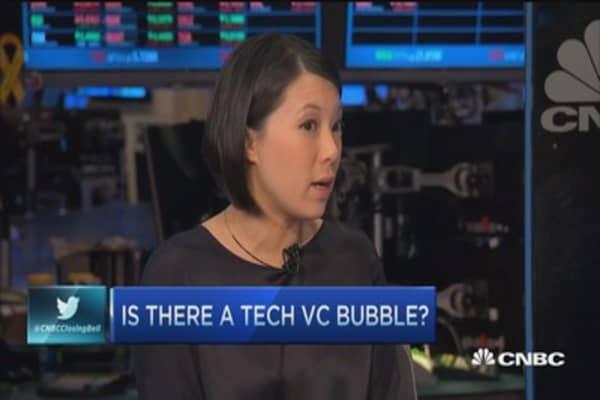 Do VCs see a tech bubble?